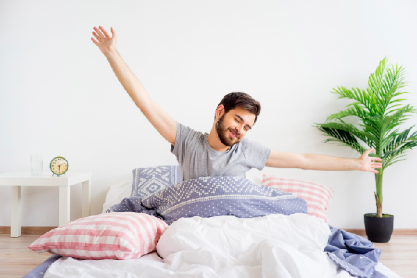 WAKING UP REFRESHINGLY FOR A COMFORTABLE DAY