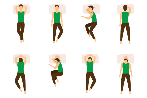 SLEEP POSITION READS YOUR PERSONALITY
