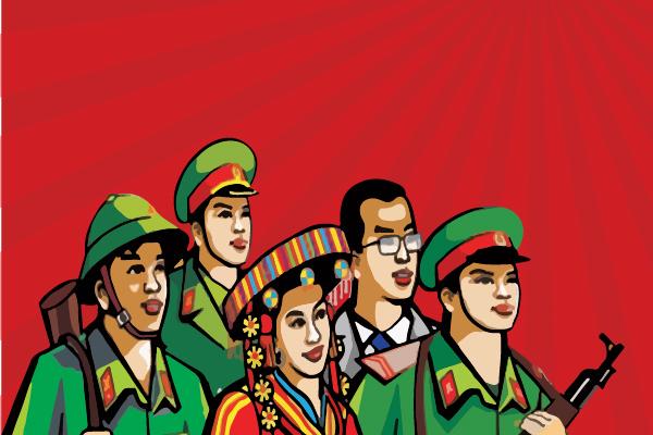Vinamattress congratulates the establishment of the Vietnam People's Army