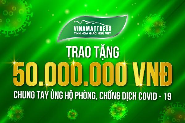 VINAMATTRESS CHUNG TAY ỦNG HỘ PHÒNG, CHỐNG DỊCH COVID – 19